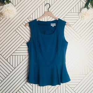Harlyn | Anthropologie Peplum Blouse (Flaw)